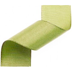 Moss Grosgrain ribbon