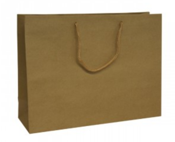 Brown Recycled Paper Carrier Bags