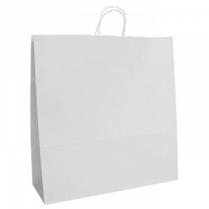 White Twist Handle Bags 450mm