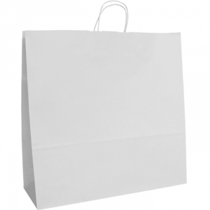 White Twist Handle Bags 540mm