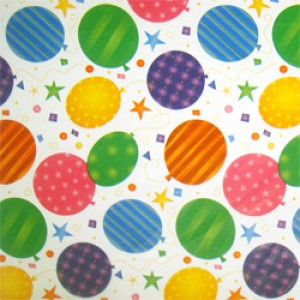 Balloon Patterned Tissue Paper