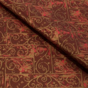 Burgandy Patterned Tissue Paper