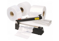 Lay- Flat tubing, rapidly create and seal bespoke bag sizes on demand