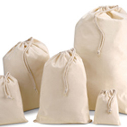 Drawstring Cotton Bags 140x200mm
