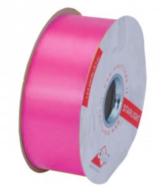 Ribbons gross grain and curling ribbon in a wide range of colours.