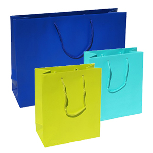 Matt Laminated Paper Carrier Bags
