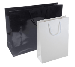 Gloss Laminated Paper Carrier Bags
